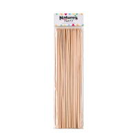 Round bamboo BBQ skewers   H300mm
