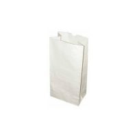 White paper SOS bag  130x80mm H250mm