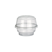 Coupe dessert plastique PET transparent
