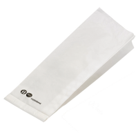 White paper oven bag  105x320mm H40mm