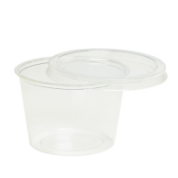 Round PLA portion cup 60ml 70mm  H50mm