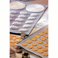 White silicone baking paper double sided  600x400mm