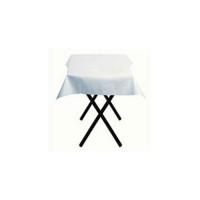 Square white paper tablecloth  700x700mm