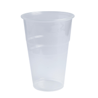 Clear PP plastic cup 490ml 95mm  H135mm
