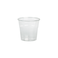 Shaker plastique PET transparent