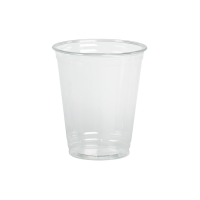 Clear PET plastic cup 360ml 95mm  H110mm