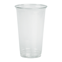 Clear PET plastic cup 590ml Ø92mm  H145mm