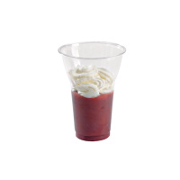 Clear PET plastic cup 450ml Ø95mm  H130mm