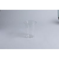 Clear PS plastic cup 250ml Ø74mm  H104mm