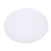Clear PET plastic flat lid  Ø116mm