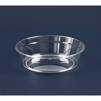 """""""Cristal"""" round clear PS plastic cup 170ml 94mm  H30mm"""
