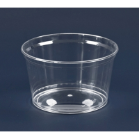 """""""Cristal"""" round clear PS plastic cup 350ml Ø112mm  H61mm"""