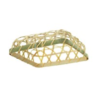 Bamboo cone holder  130x130mm H30mm