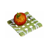 """Ise"" square bamboo mat  50x50mm"
