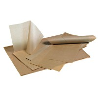 Set de papel kraft antigrasa  300x400mm