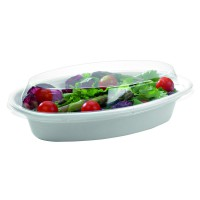 Clear PET lid  230x140mm H30mm