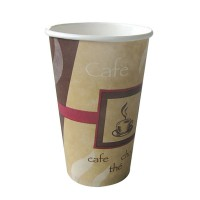 "Vaso de papel decorado ""Passion"" 450ml Ø90mm  H160mm"