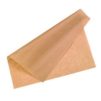 Kraft/brown greaseproof paper  400x400mm