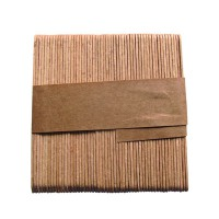 Bundled wooden coffee stirrers for vending machines  9x1mm H90mm