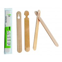 Easy wooden chopsticks wrapped by pair 0ml   H150mm