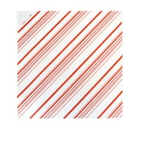 Greaseproof white paper with red stripes  310x320mm