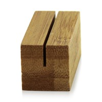 Bamboo menu holder  56x20mm H20mm