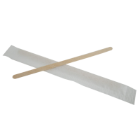 Individually wrapped wooden coffee stirrer  5 H110mm
