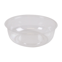 Insert plastique PET transparent pour pot/coupe  Ø78mm  H25,5mm