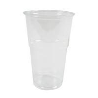 """Clear PET """"FINESSE"""" cup 350ml Ø77mm  H121,7mm"""