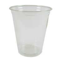 "Clear PET ""FINESSE"" plastic cup 420ml Ø92mm  H106,2mm"