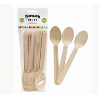 Wooden spoon   H158mm