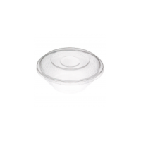 Plastic dome cover PS transparent oval 240x170mm H55mm