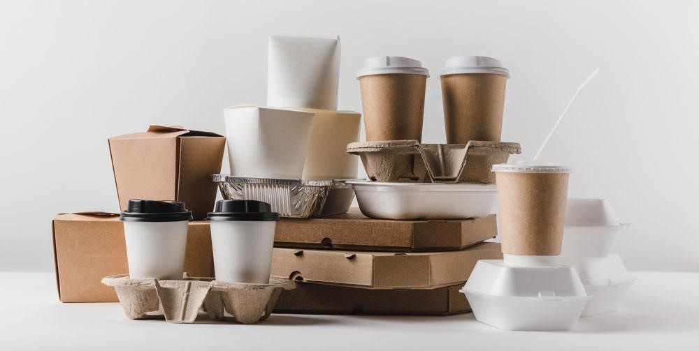 Introduce eco-friendly food packaging in the catering industry
