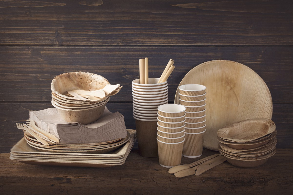 Opt for eco-friendly disposable tableware for your various events