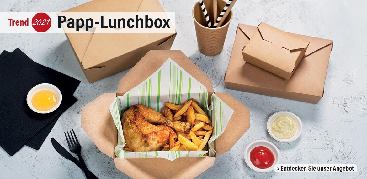 Trend 2021 : Papp-Lunchbox